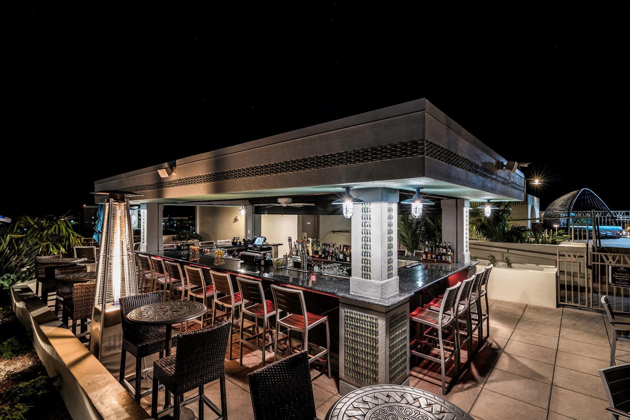 bar perch night