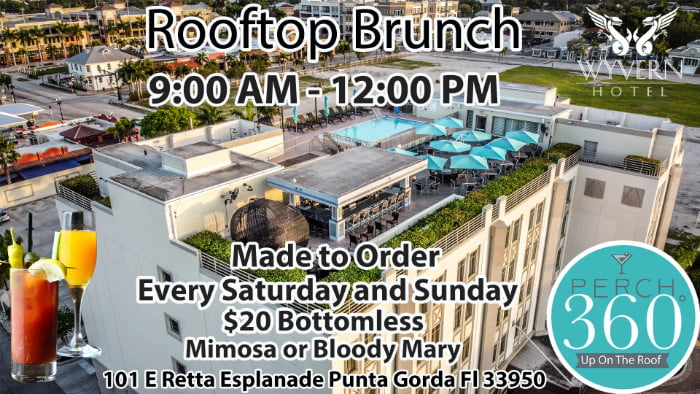 rooftop brunch