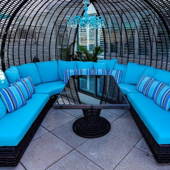 Cabanas Great for Private Parties